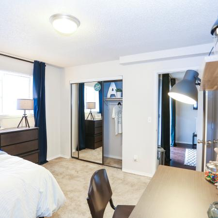 Luxurious Bedroom | Apartments in Lawrence, KS | The Rockland