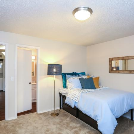 Spacious Private Bedroom | Lawrence KS Apartment Homes | The Rockland