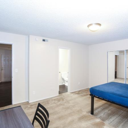 Residents in the Bathroom | Apartment Homes in Lawrence, KS | The Rockland