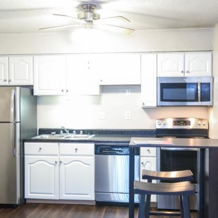 State-of-the-Art Kitchen | Lawrence KS Apartment Homes | The Rockland