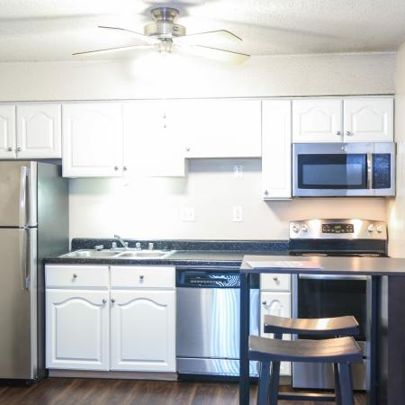 Spacious Kitchen | Apartments for rent in Lawrence, KS | The Rockland