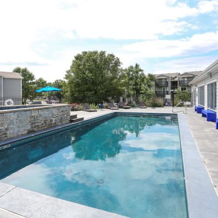 Resort Style Pool | Apartments in Lawrence, KS | The Rockland