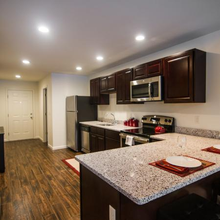 State-of-the-Art Kitchen | Mansfield Center CT Apartment Homes | Meadowbrook Gardens