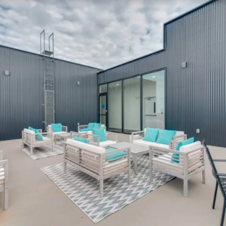 Residents Tanning on the Sun Deck | Apartment Homes in Clarksville, TN | Main608