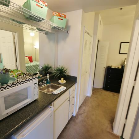Elegant Kitchen | Apartments in Tallahassee, FL | Aqua Club