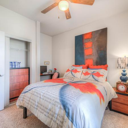 Spacious Bedroom | College Station TX Apartment Homes | Gateway at College Station