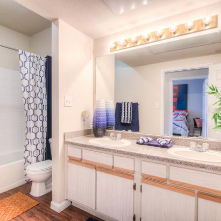 Elegant Bathroom | Apartments in College Station, TX | Gateway at College Station