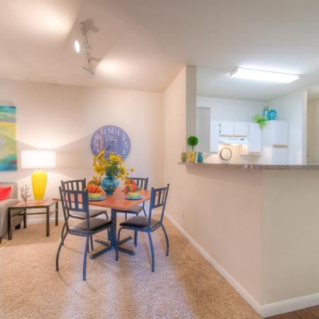 Elegant Dining Room | College Station TX Apartments For Rent | Gateway at College Station