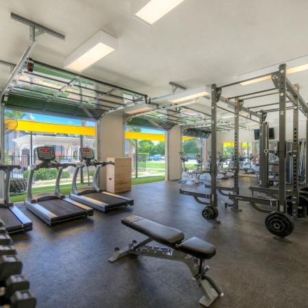 State-of-the-Art Fitness Center | Apartment Homes in College Station, TX | Gateway at College Station