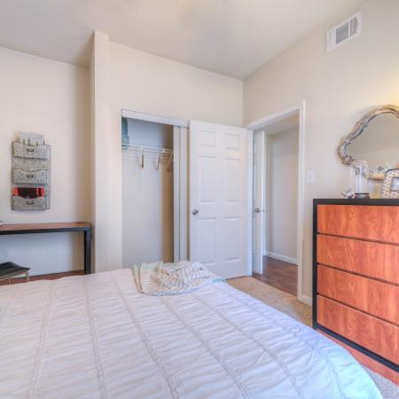 Elegant Bedroom | College Station TX Apartment For Rent | Gateway at College Station