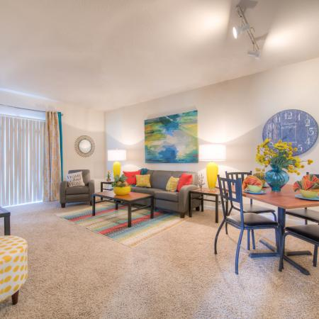 Luxurious Living Area | Apartment in College Station, TX | Gateway at College Station