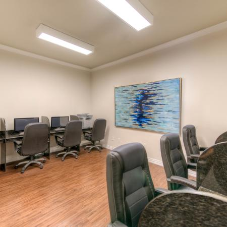 Resident Business Center | College Station TX Apartment For Rent | Gateway at College Station