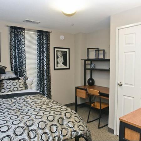 Elegant Bedroom   Cincinnati OH Apartment For Rent   CP Cincy