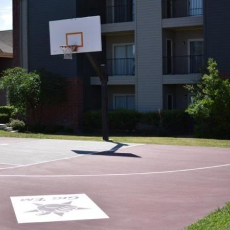 Community Basketball Court | Apartments Homes for rent in College Station, TX | Gateway at College Station
