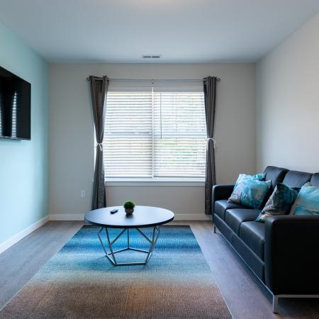 Spacious Living Room | Apartments in Mansfield Center, CT | Meadowbrook Gardens