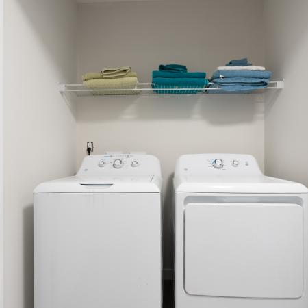 In-home Laundry  | Apartments Homes for rent in Mansfield Center, CT | Meadowbrook Gardens