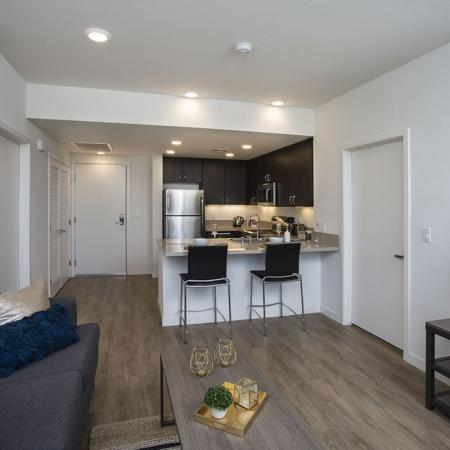 Spacious Living Room | Apartments in San Jose, CA | 27 North