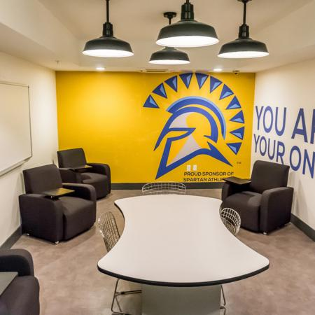Community Study Lounge   Apartments Homes for rent in San Jose, CA   27 North
