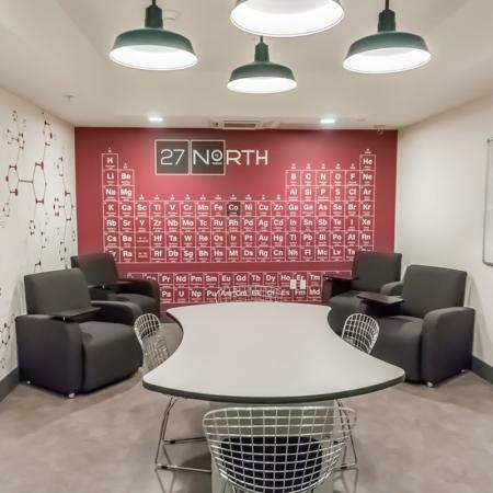 Community Study Lounge | Apartments Homes for rent in San Jose, CA | 27 North