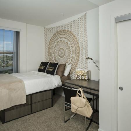 Spacious Bedroom   San Jose CA Apartment Homes   27 North