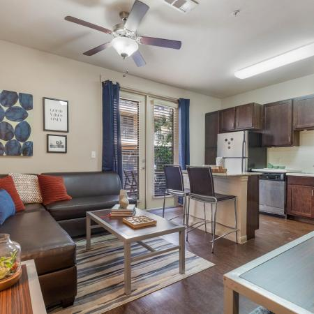 Spacious Living Room | Apartments in Austin, TX | GrandMarc Austin