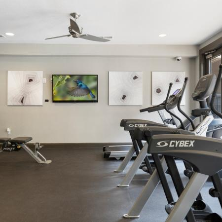 Resident Fitness Center | Apartments Austin, TX | GrandMarc Austin