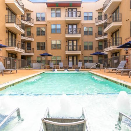 Sparkling Pool | Apartments for rent in Austin, TX | GrandMarc Austin
