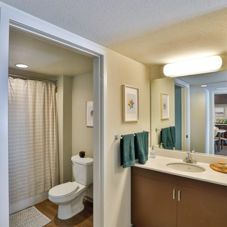 Elegant Bathroom | Apartments in Los Angeles, CA | University Gateway
