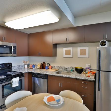 Spacious Kitchen | Apartments for rent in Los Angeles, CA | University Gateway