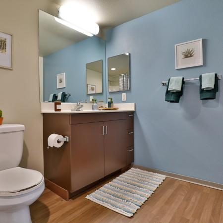 Luxurious Bathroom | Apartments for rent in Los Angeles, CA | University Gateway