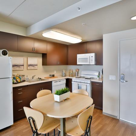 Elegant Kitchen | Apartments in Los Angeles, CA | University Gateway