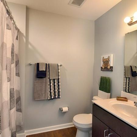 Elegant Bathroom   Apartments in Spartanburg, SC   Valley Falls