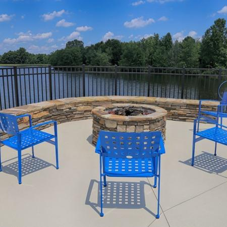 Resident Fire Pit   Apartments Homes for rent in Spartanburg, SC   Valley Falls