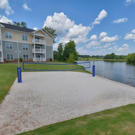 Sand Volleyball Court   Spartanburg SC Apartments For Rent   Valley Falls