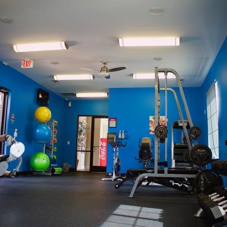 State-of-the-Art Fitness Center | Apartment Homes in Edmond, OK | Bryant Place