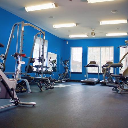 Cutting Edge Fitness Center | Apartments Homes for rent in Edmond, OK | Bryant Place