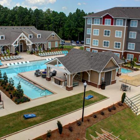 Resort Style Pool | Apartments in Starkville, MS | Haven 12