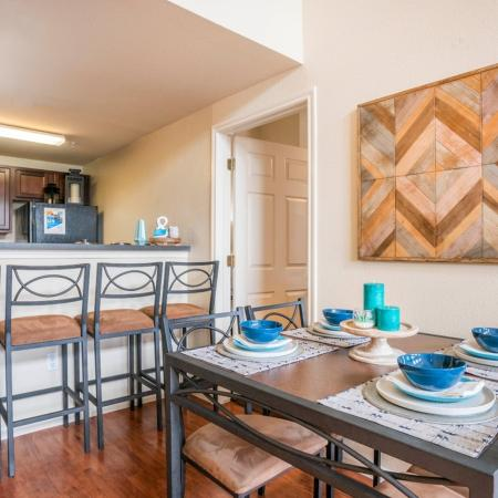 Spacious Dining Room | Apartment in College Station, TX | 2818 Place
