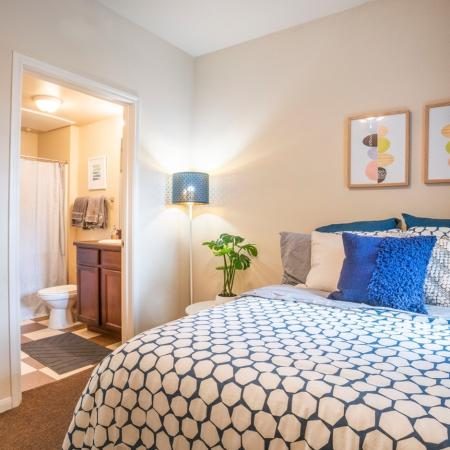 Spacious Bedroom | College Station TX Apartment Homes | 2818 Place