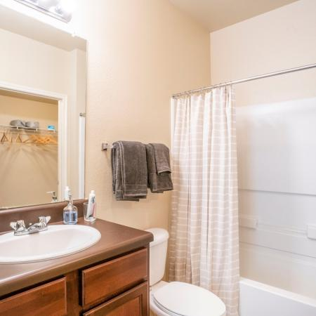 Luxurious Bathroom | Apartments for rent in College Station, TX | 2818 Place