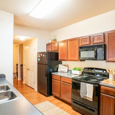 Modern Kitchen | College Station TX Apartment For Rent | 2818 Place