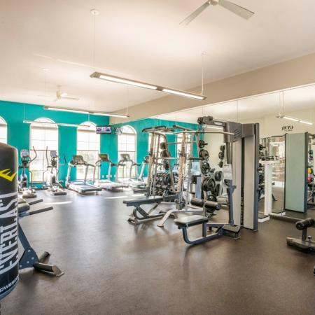 State-of-the-Art Fitness Center | Apartment Homes in College Station, TX | 2818 Place