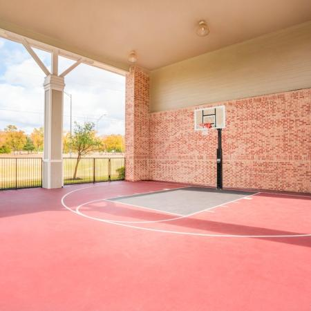 Community Basketball Court | Apartments Homes for rent in College Station, TX | 2818 Place