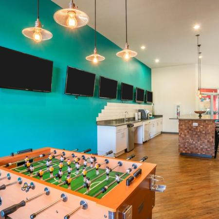 Community Fuseball Table | College Station TX Apartments | 2818 Place