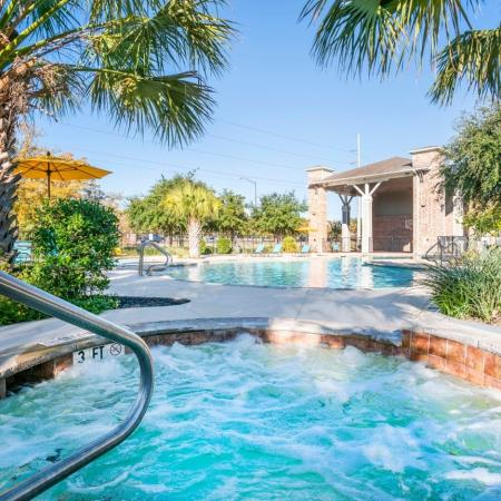 Resort Style Pool | Apartments in College Station, TX | 2818 Place