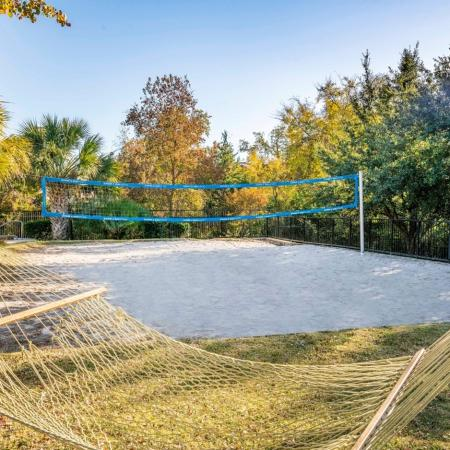 Resident Volleyball Court | College Station TX Apartments | 2818 Place