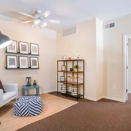 Spacious Living Room | Apartments in College Station, TX | 2818 Place
