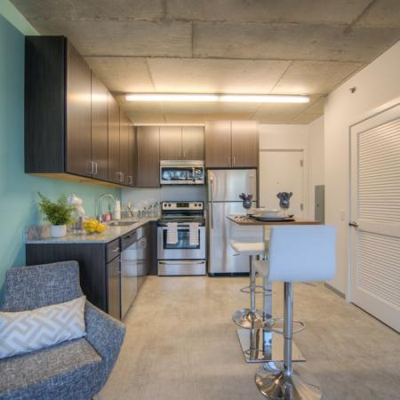 Modern Kitchen | Chicago IL Apartment For Rent | Vue 53