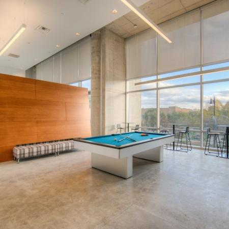 Residents Playing Billiards | Apartments Homes for rent in Chicago, IL | Vue 53