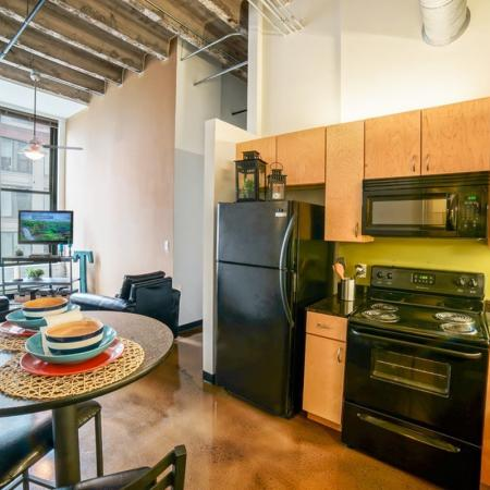 Spacious Dining Room | Apartment in Chicago, IL | Tailor Lofts